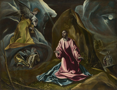 Studio of El Greco: 'The Agony in the Garden of Gethsemane'