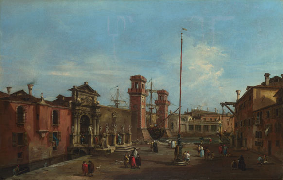 Francesco Guardi: 'Venice: The Arsenal'
