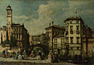 Francesco Guardi,'Venice: Entrance to the Cannaregio'