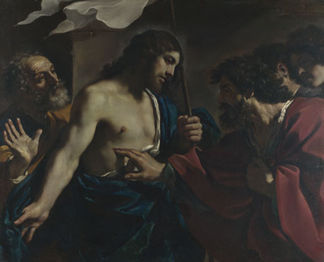 Guercino: 'The Incredulity of Saint Thomas'