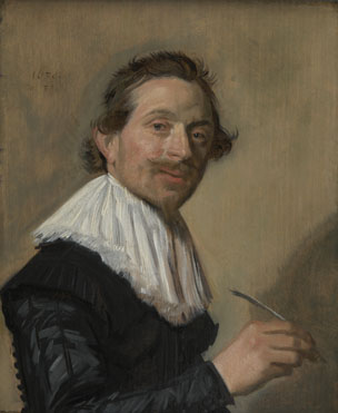Frans Hals: 'Portrait of Jean de la Chambre at the Age of 33'