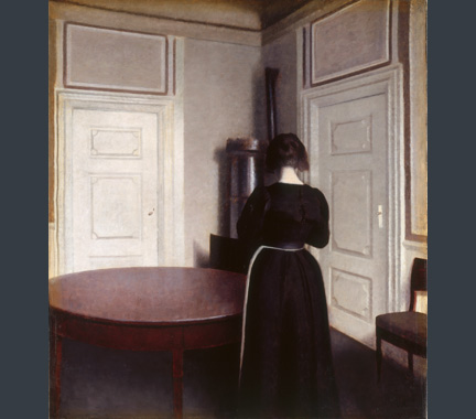 Hammershøi, 'Interior', 1899
