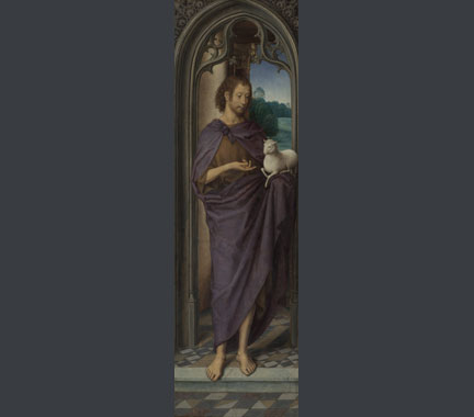 Hans Memling, 'Saint John the Baptist', about 1480