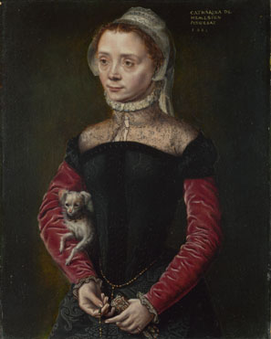 Catharina van Hemessen: 'Portrait of a Lady'