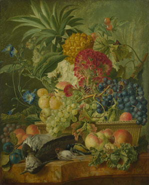 Wybrand Hendriks: 'Fruit, Flowers and Dead Birds'