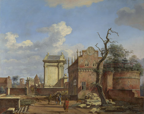Jan van der Heyden: 'An Architectural Fantasy'