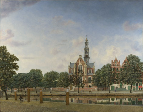 Jan van der Heyden: 'View of the Westerkerk, Amsterdam'