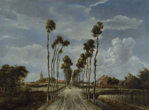 Meindert Hobbema: 'The Avenue at Middelharnis'
