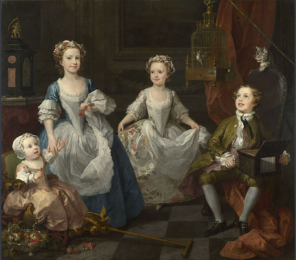 William Hogarth, The Graham Children