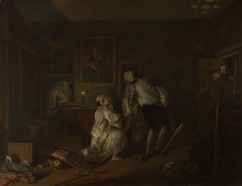 William Hogarth: 'Marriage A-la-Mode: 5, The Bagnio'