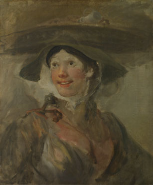 William Hogarth: 'The Shrimp Girl'