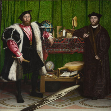 Hans Holbein the Younger: 'The Ambassadors'