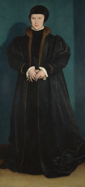 Hans Holbein the Younger: 'Christina of Denmark, Duchess of Milan'