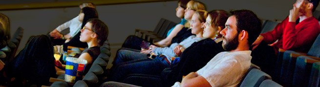 Audience in Gallery Cinema