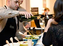 man-pouring-wine-eat-and-drink