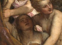 Detail from Titian, 'Diana and Callisto'