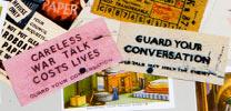 Wartime leaflets
