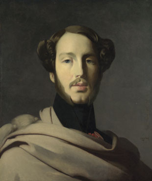 Studio of Jean-Auguste-Dominique Ingres: 'The Duc d'Orléans'
