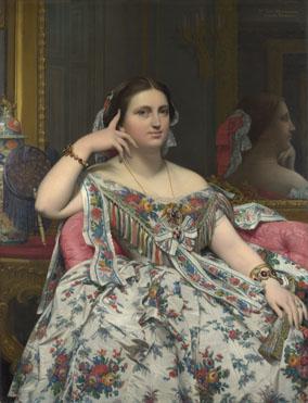 Jean-Auguste-Dominique Ingres: 'Madame Moitessier'