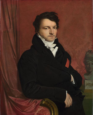 Jean-Auguste-Dominique Ingres: 'Monsieur de Norvins'