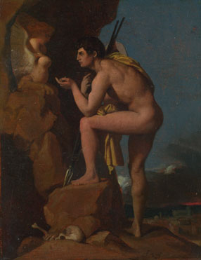 Jean-Auguste-Dominique Ingres: 'Oedipus and the Sphinx'