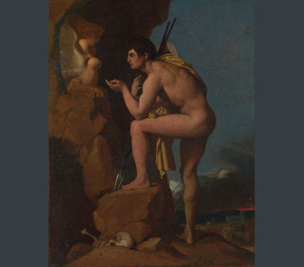 Jean-Auguste-Dominique Ingres, Oedipus and the Sphinx