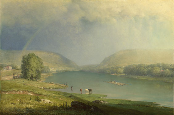 George Inness: 'The Delaware Water Gap'