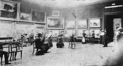 The Turner Room at Trafalgar Square in 1907