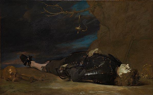 Italian, 'A Dead Soldier', 17th Century