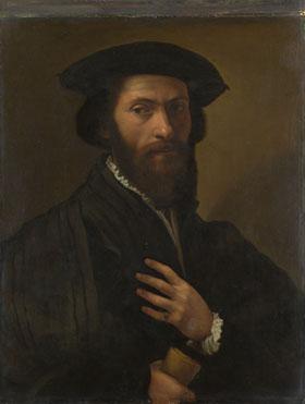 Italian, Florentine: 'A Bearded Man'