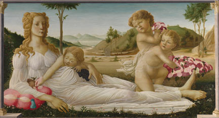 Italian, Florentine, 'An Allegory', about 1500