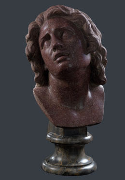 Italian, Florentine (?): 'Head of The Dying Alexander'