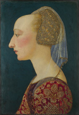 Italian, Florentine: 'Portrait of a Lady in Red'