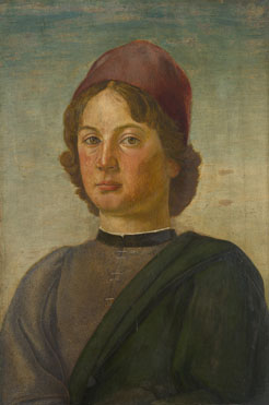 Italian, Florentine: 'Portrait of a Young Man'