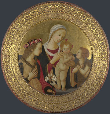 Italian, Florentine: 'The Virgin and Child with Saints'
