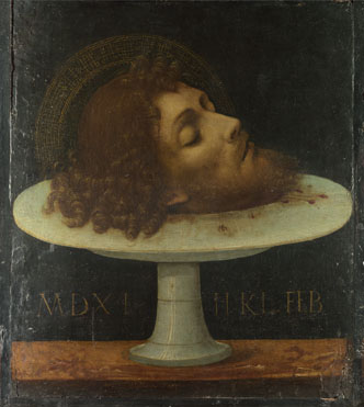 Italian: 'The Head of Saint John the Baptist'