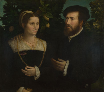 Italian: 'A Man and his Wife'