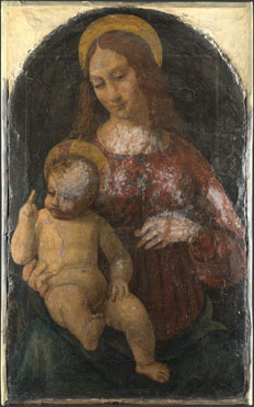 Italian, Milanese: 'The Virgin and Child'