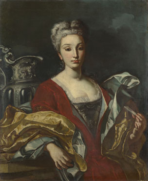 Italian, Neapolitan: 'Portrait of a Lady'