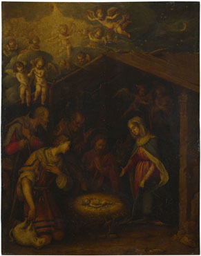 Italian, North: 'The Adoration of the Shepherds'