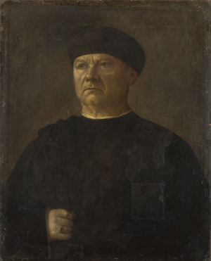Italian: 'Portrait of an Old Man'