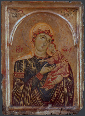 Italian, Tuscan: 'The Virgin and Child with Two Angels'