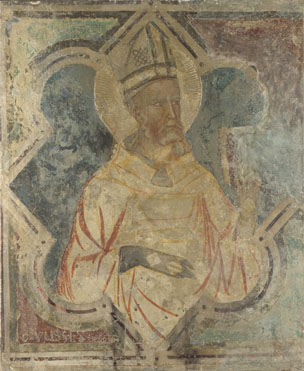 Italian, Umbrian: 'A Bishop Saint'