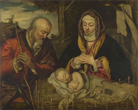 Italian, Venetian (?): 'The Nativity'