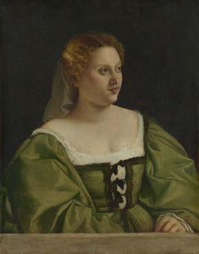 Italian, Venetian: 'Portrait of a Lady'