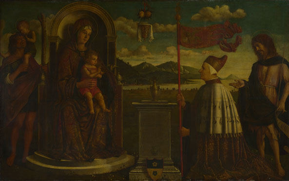 Italian, Venetian: 'The Virgin and Child with Saints'