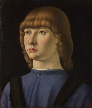 Jacometto: 'Portrait of a Boy'