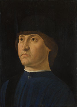 Jacometto: 'Portrait of a Man'