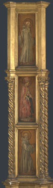 Attributed to Jacopo di Antonio (Master of Pratovecchio?): 'Left Pilaster of an Altarpiece'