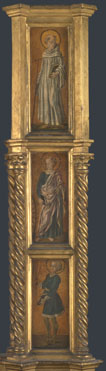 Attributed to Jacopo di Antonio (Master of Pratovecchio?): 'Right Pilaster of an Altarpiece'